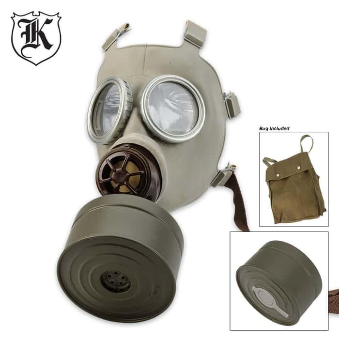 Military Surplus Czech Gas Mask CM3