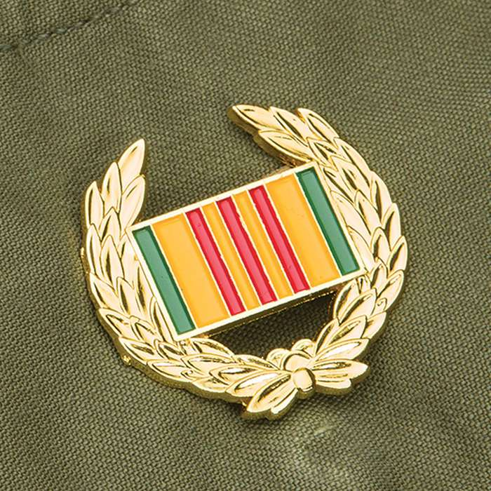 Vietnam Wreath Hat Pin