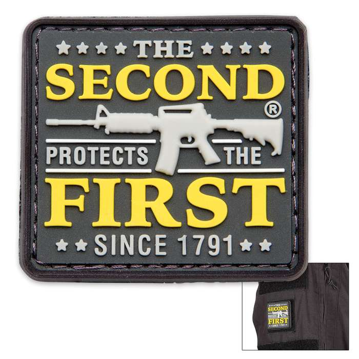 The Second Protects The First PVC Patch