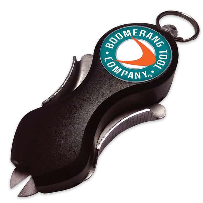 Boomerang Snip Retractable Fishing Tool
