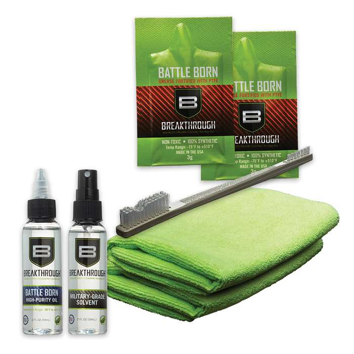 Breakthrough Clean Basic Cleaning Kit - Solvent And Oil