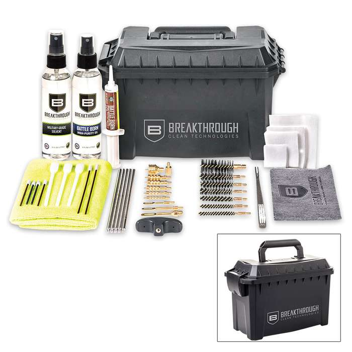Breakthrough Clean Ammo Can Cleaning Kit - 22 Caliber to 12-Gauge