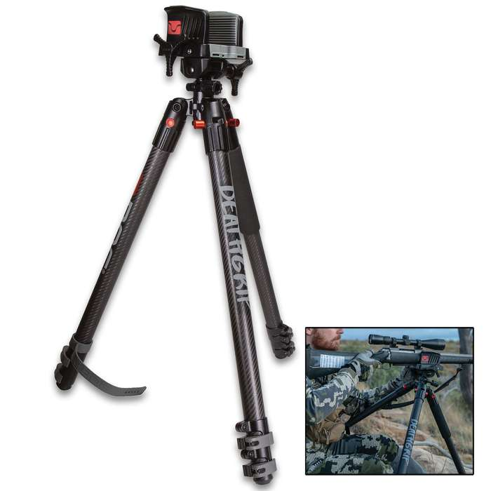 BOG DeathGrip Tripod - Aluminum Construction, Ultimate Stability, Hands-Free, Lasts Season After Season