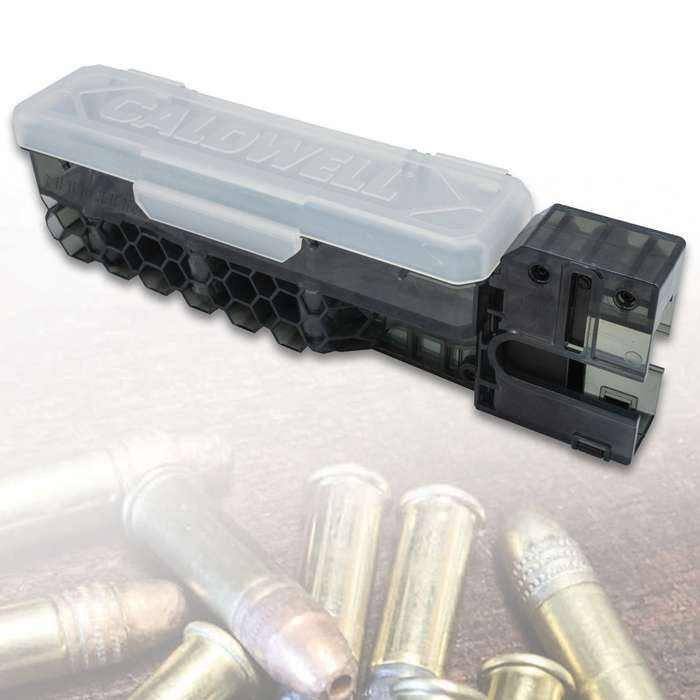 AR15 22LR Mag Charger - Fastest Loader Ever, Polycarbonate Construction, Holds Up To 100 Rounds