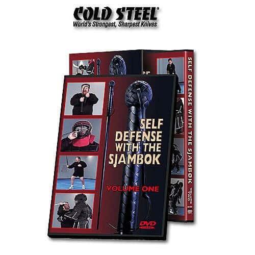 Cold Steel Sjambok Self Defense DVD