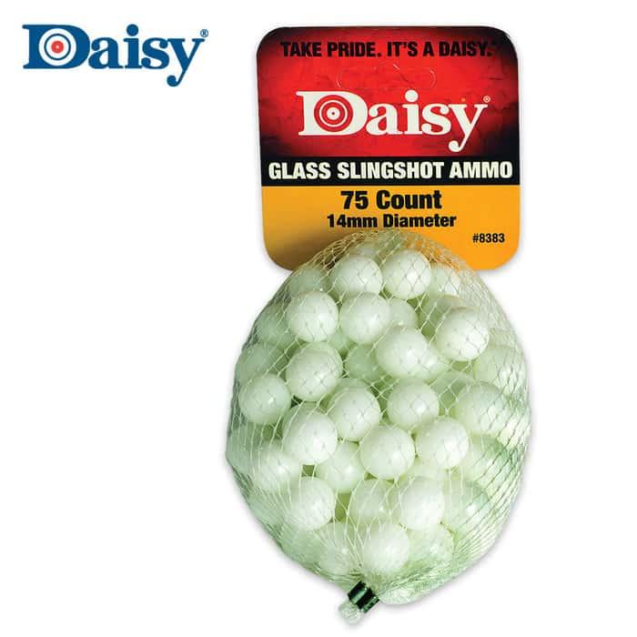 Daisy 1/2 Inch Glass Slingshot Ammo