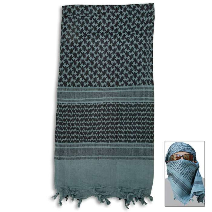 Tactical Shemagh Head Wrap Mask Airsoft