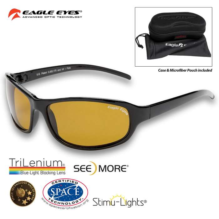 Eagle Eyes Forenza Polarized Sunglasses - Space Certified from NASA