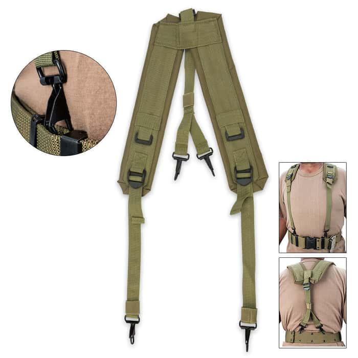 GI Surplus LC-1 Y Suspenders