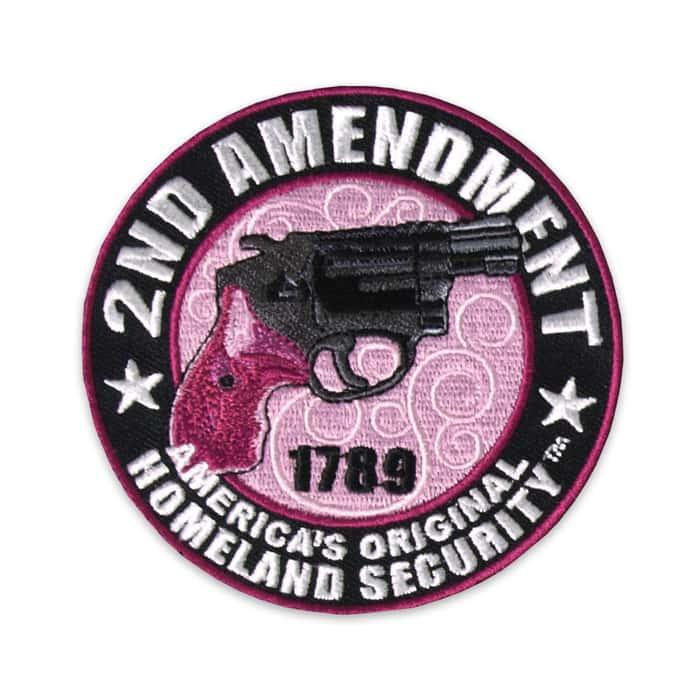 Second Amendment 1789 Homeland Security Morale Patch