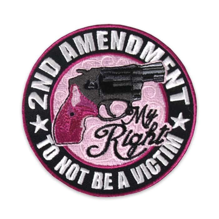 Second Amendment My Right Gun Morale Patch