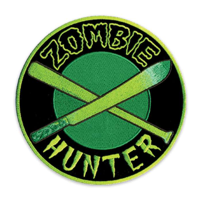 Zombie Hunter Green Morale Patch