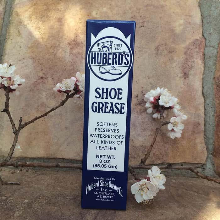 Huberds Vintage Shoe Grease - 3 Oz. Tube