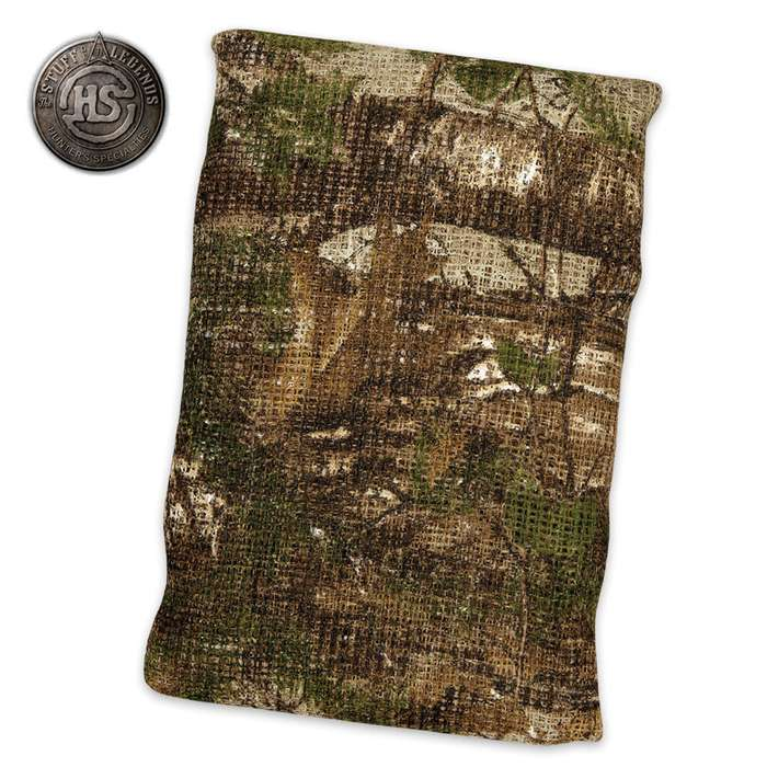 Burlap Realtree Xtra Green 54 in. x 12 in.
