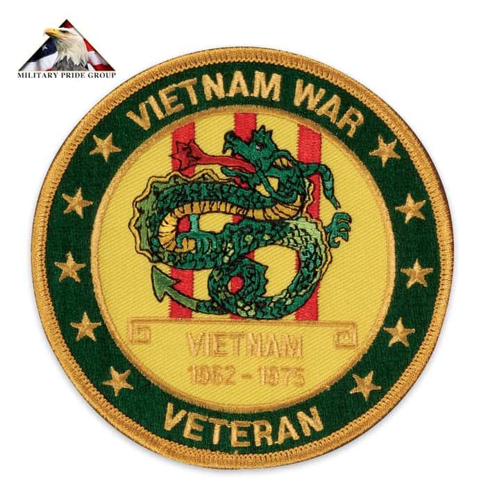 Vietnam War Veteran Patch