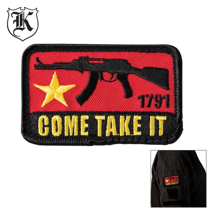 Come Take It Patch Morale Patch