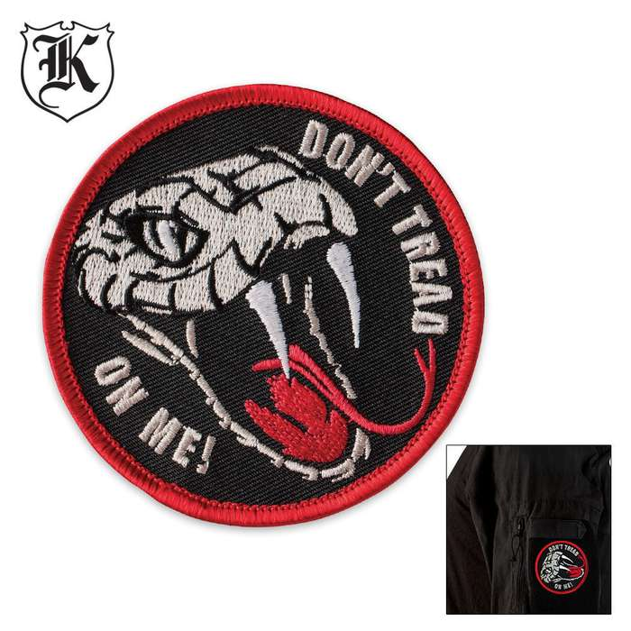 Dont Tread On Me Patch Morale Patch