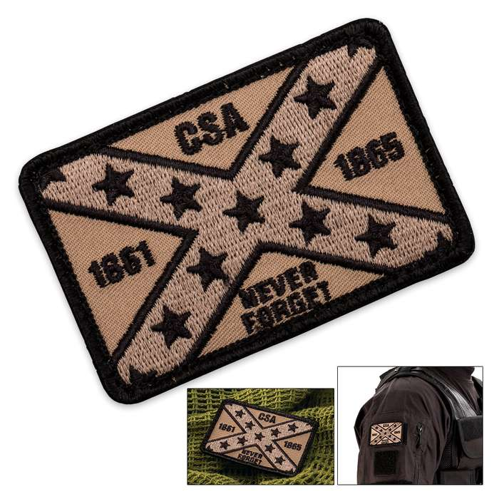 CSA Patch With Velcro