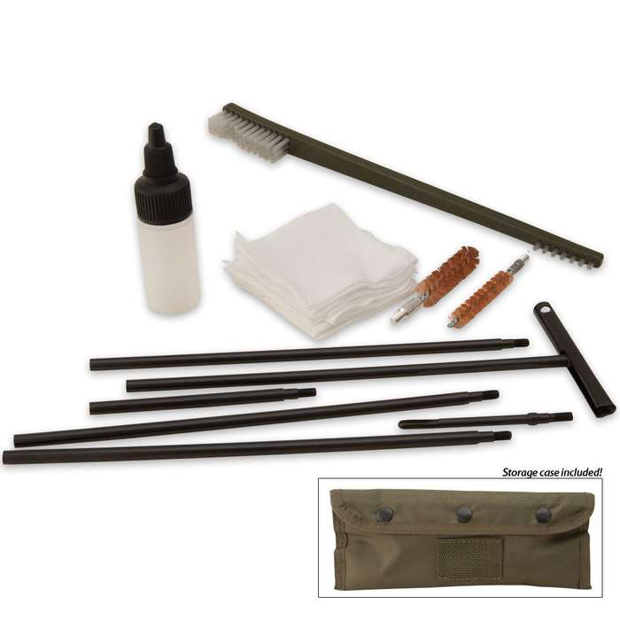 AK-47/SKS Field Cleaning Kit With Pouch OD