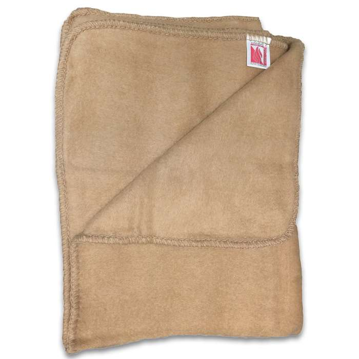 Keep this new condition Italian Military Surplus Fire Resistant Blanket ready anytime you need to add some extra warmth