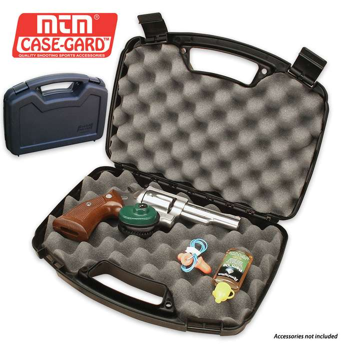 Single Pistol Handgun Case - Up To 6 In. Revolver