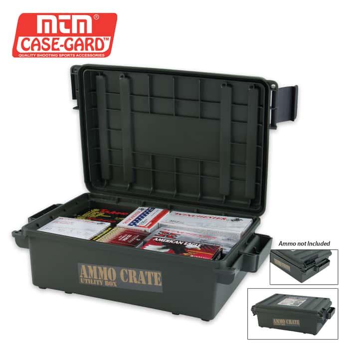Ammo Crate 17 X 10 3/4 X 5 1/2