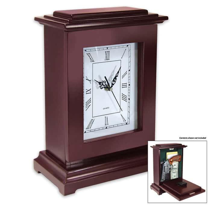 Large Gun Concealment Clock Tall