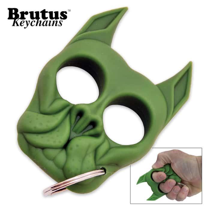 Brutus Key Chain Green
