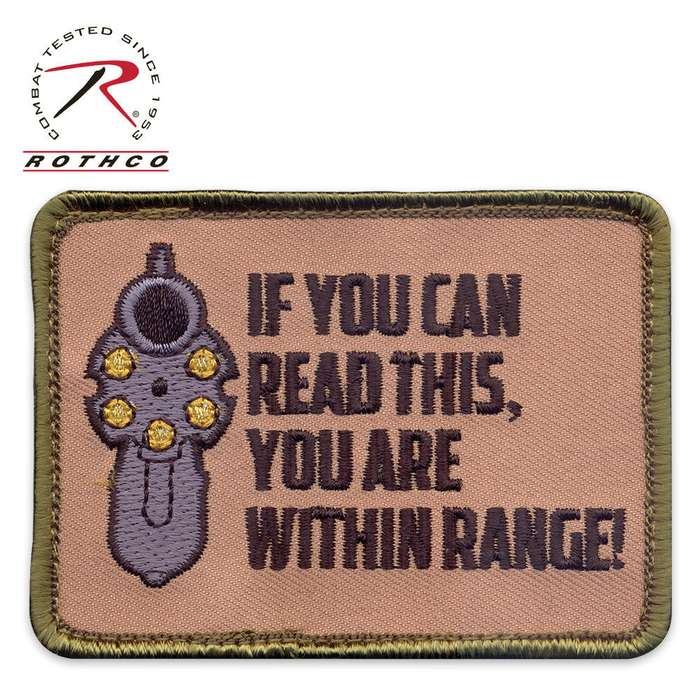 If You Can Read This You Are Within Range Patch
