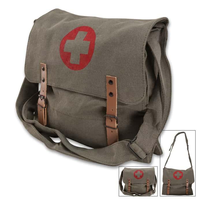 Rothco Olive Drab Medic Bag Messenger Shoulder