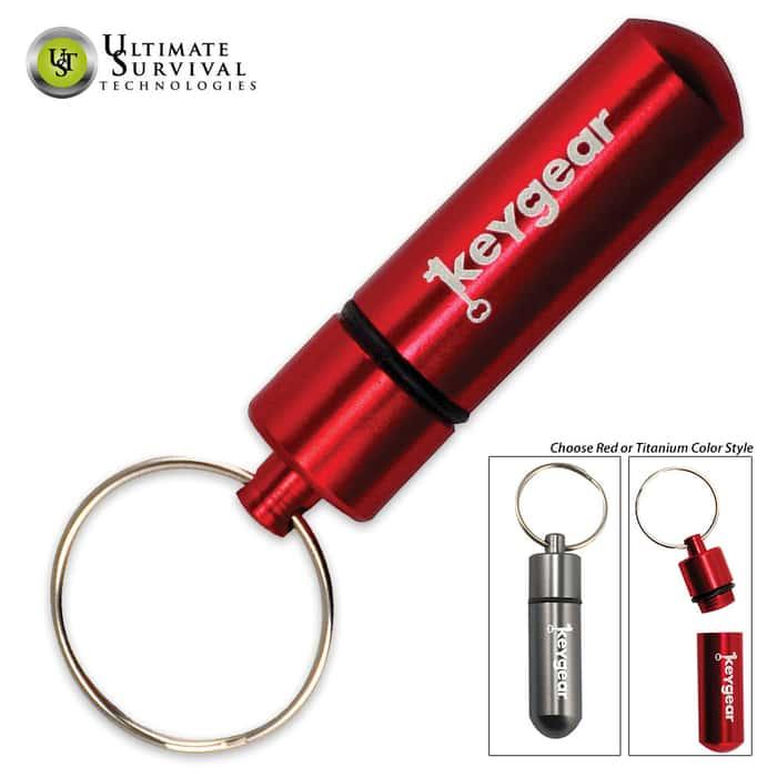 UST Storage Capsule Keychain