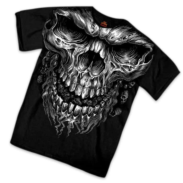 Skull Muscle Short Sleeve T-Shirt