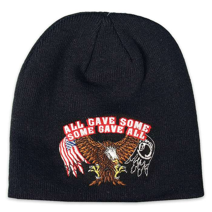 All Gave Some, Some Gave All Knit Beanie Hat