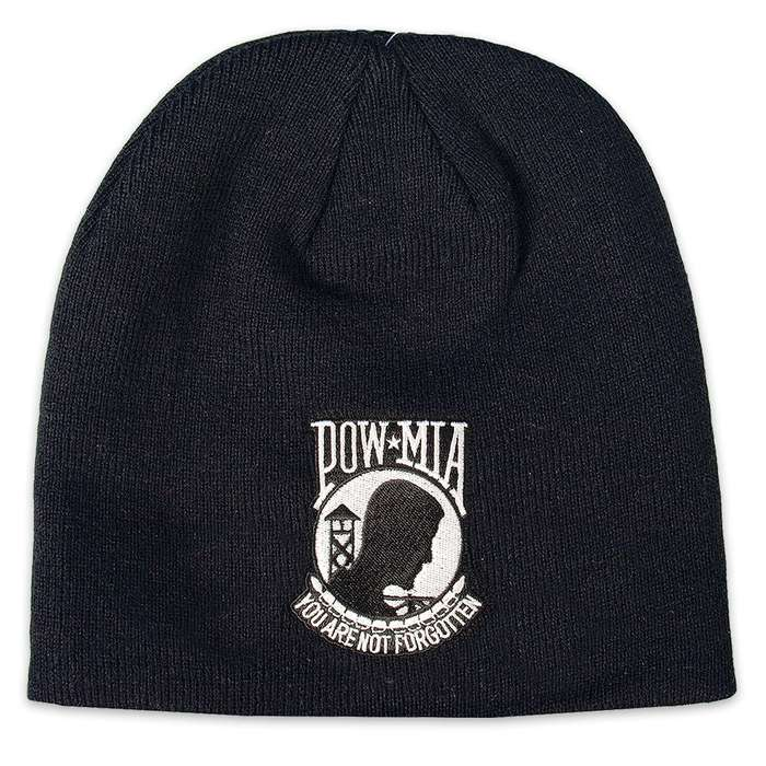 POW / MIA You Are Not Forgotten Knit Beanie hat