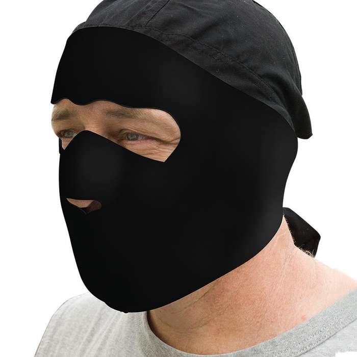 Black Neoprene Facemask