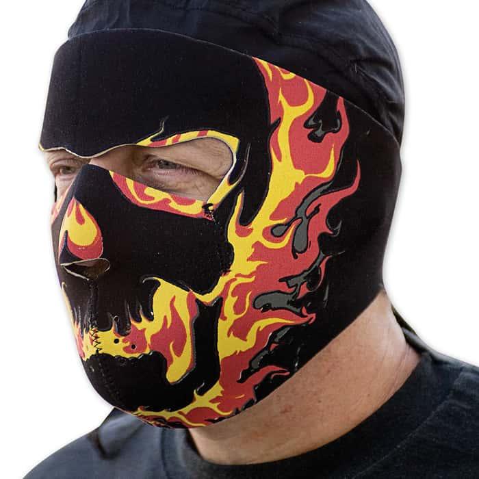 Blackout Neoprene Facemask