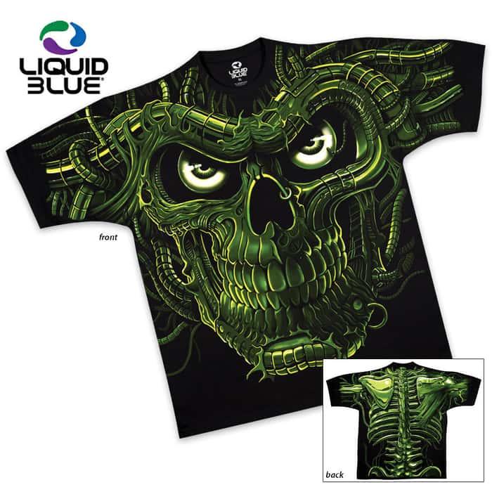 Terminator Skull Short Sleeve T-Shirt