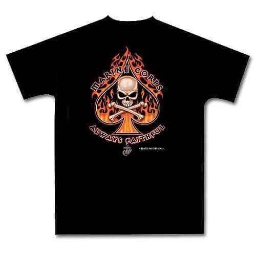 Marine Corps Death Spade T-Shirt