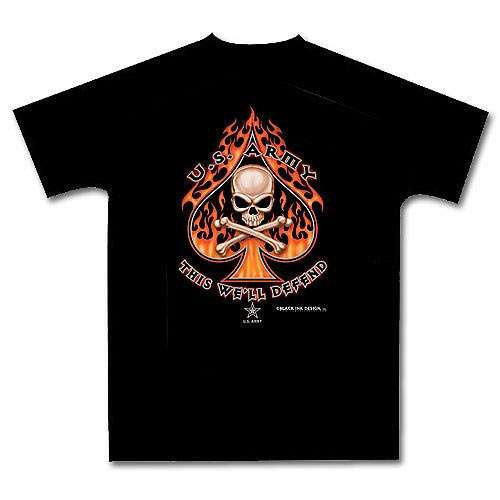 Army Death Spade T-Shirt