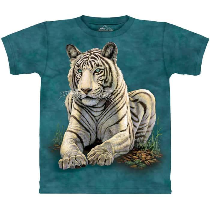 Tiger Gaze Short Sleeve Shirt