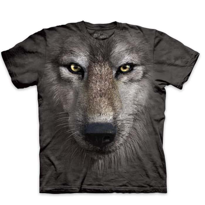 Wolf Face Short Sleeve T-Shirt