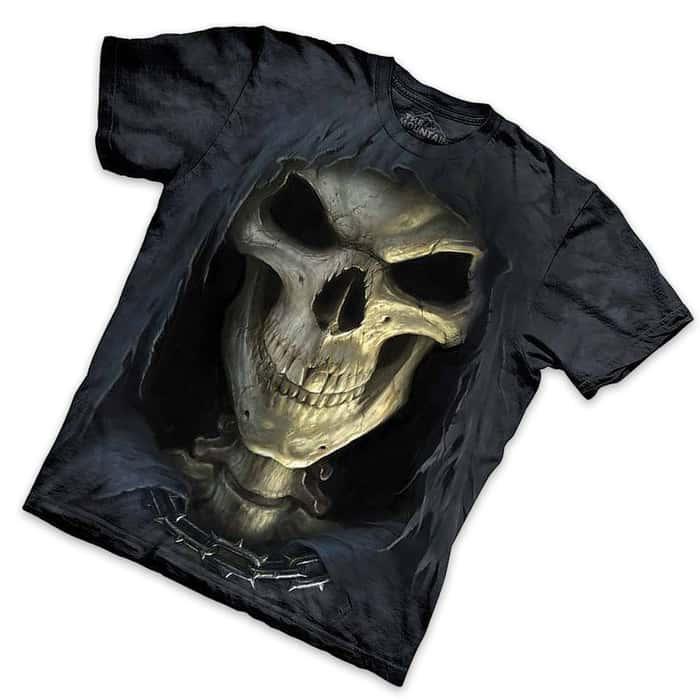 Big Face Death Short Sleeve T Shirt