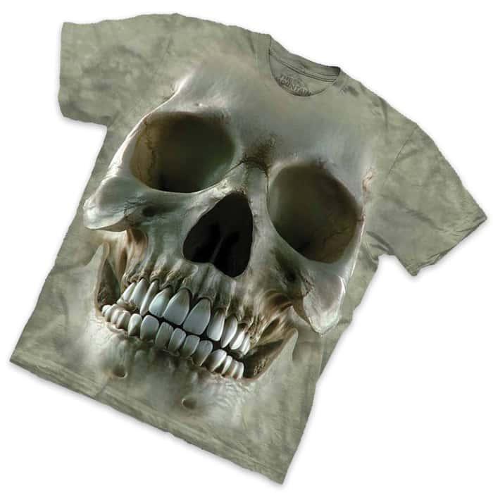 Big Face Skull Short Sleeve T-Shirt