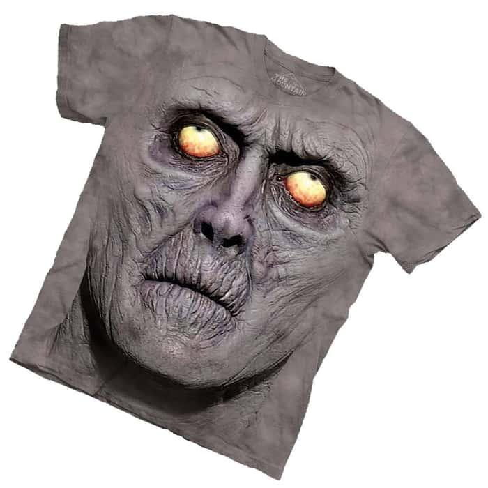 Zombie Portrait Short Sleeve T-Shirt