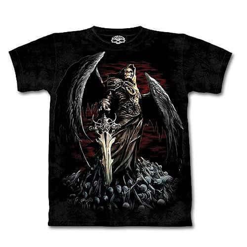Skull Death Short Sleeve Shirt