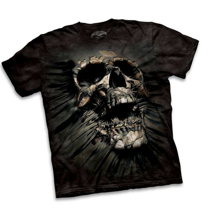 Breakthrough Skull Short Sleeve Shirt