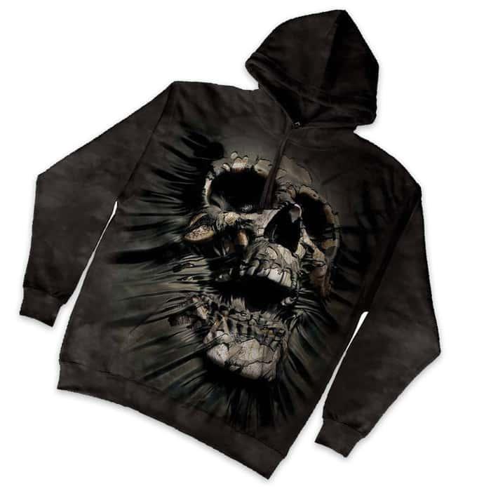 Breakthrough Skull Hoodie