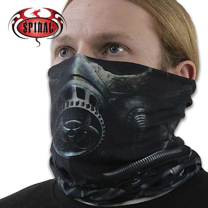 As the Apocalypse rains down from on high, the ensuing Nuclear fallout dictates the wearing of Biohazard armor