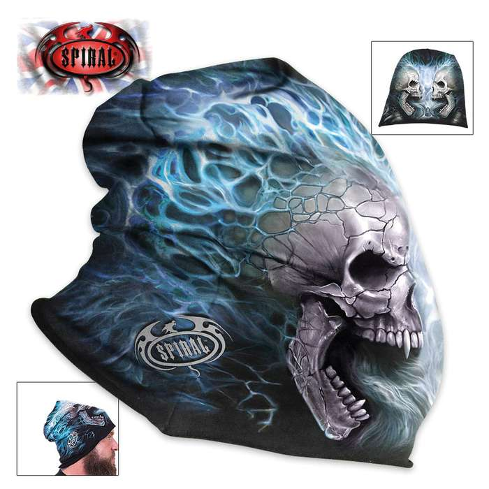 Flaming Spine Cotton Beanie - Hat