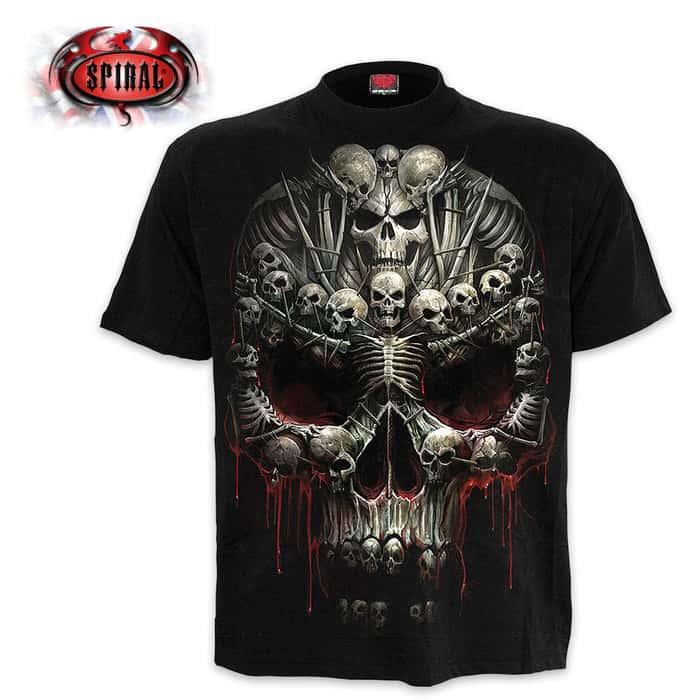Death Bones Black T-Shirt